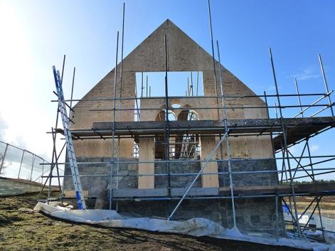 building the chapel